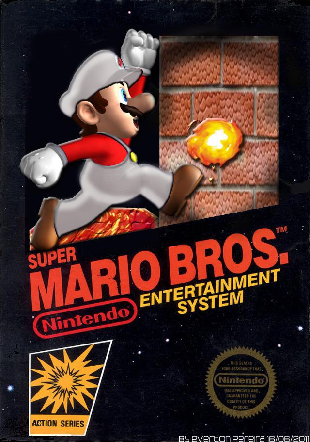 Super Mario Bros Nes Cover By Tonatello On Deviantart