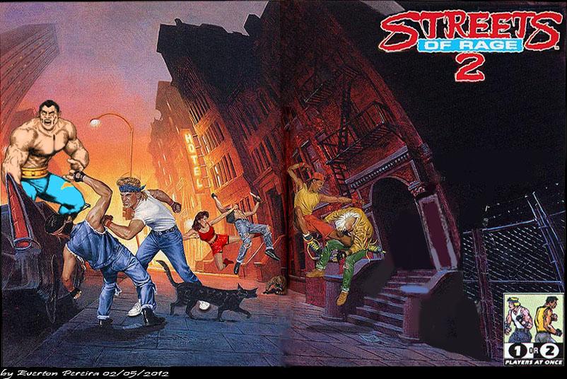 Streets of Rage 2 by tonatello