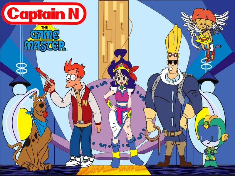 Captain N Cartoon Characters : Captain n by tonatello on deviantart
