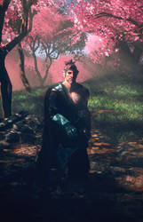 In The Garden Of Hanamura by FrvrMate