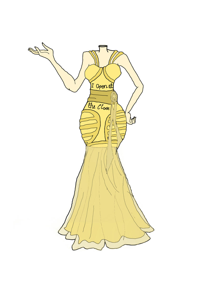 Golden Snitch Dress by 1996Courtney2011