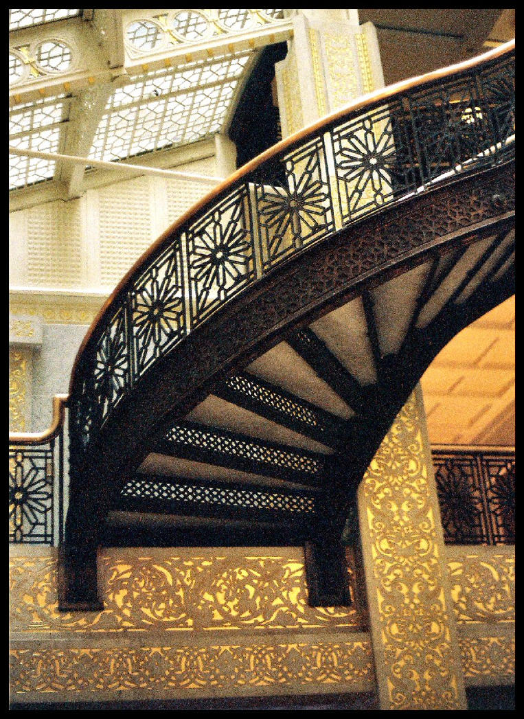 Frank Lloyd Wright Staircase By Angie Angel Angela ...
