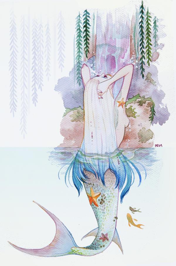 Mermaid lagoon by primiita