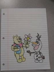 Pooh  Olaf