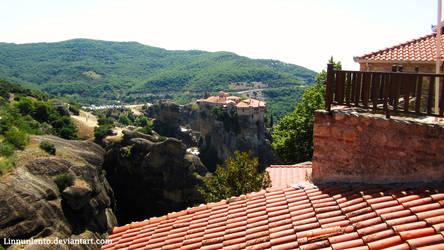 Monasteries of Meteora by Linnunlento