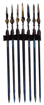 Spear Rack by Guillem-Jehanne
