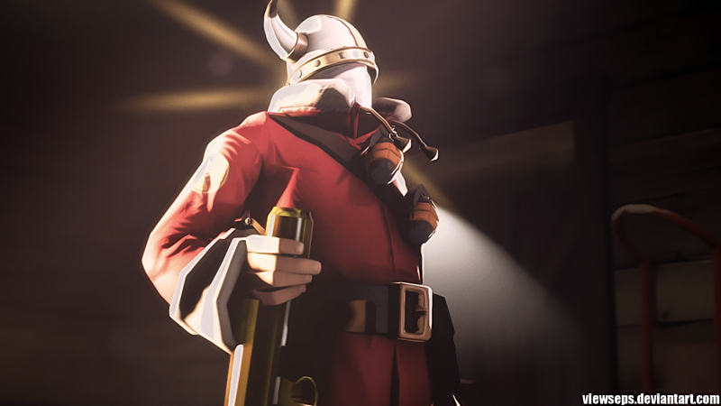 Team Fortress 2 (TF2) - Soldier by ViewSEPS on DeviantArt  Team Fortress 2...