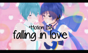 MMD Falling in love +Motion DL Original