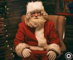 Tired Santa by ACHI-SHUSHANASHVILI