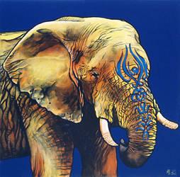 Elephant sage by Lunarki