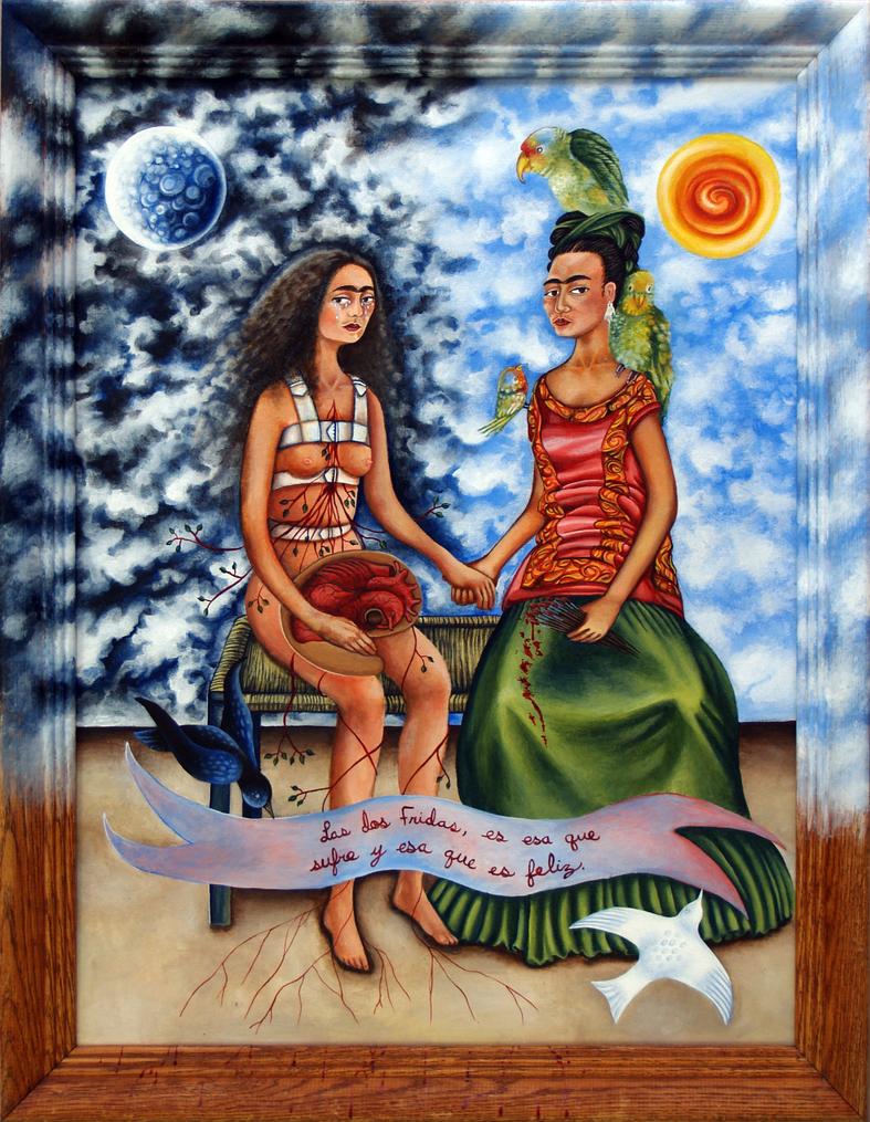 Hommage a Frida Kahlo by Lunarki