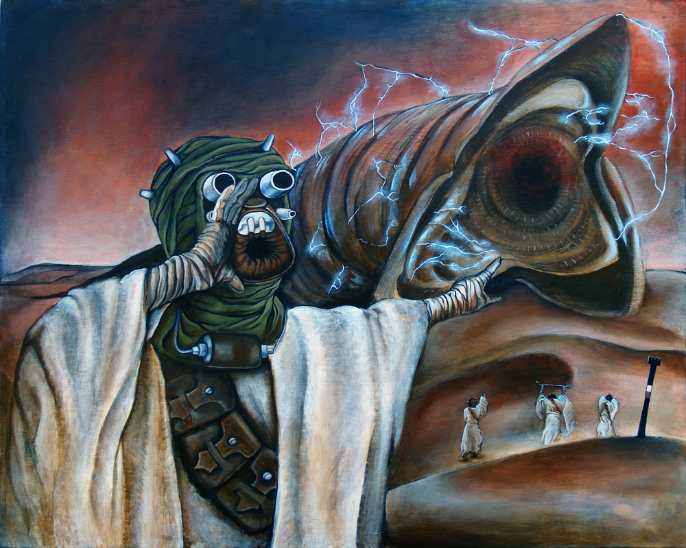 Tuskan raider vs shai hulud by Lunarki