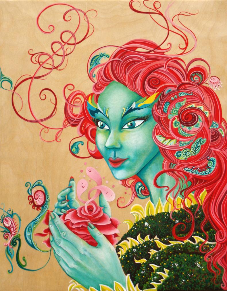 Poison Ivy by Lunarki