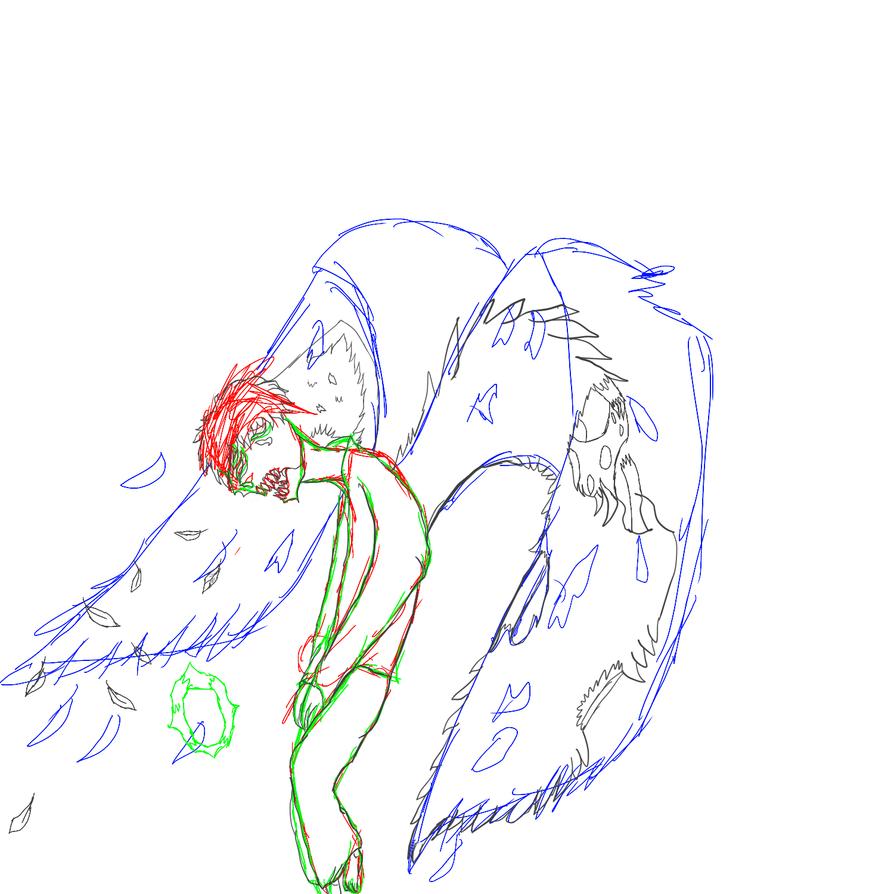 Fallen angel by doktor95