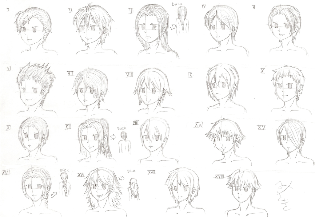 Ro Hairstyles For Boys By Misaki Chama On Deviantart