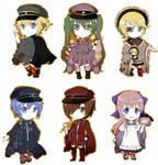 Senbonzakura Vocaloid Chibis