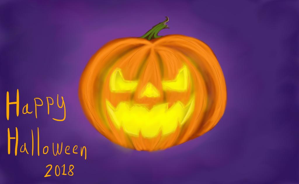 Happy Halloween 2018 by Rexart35