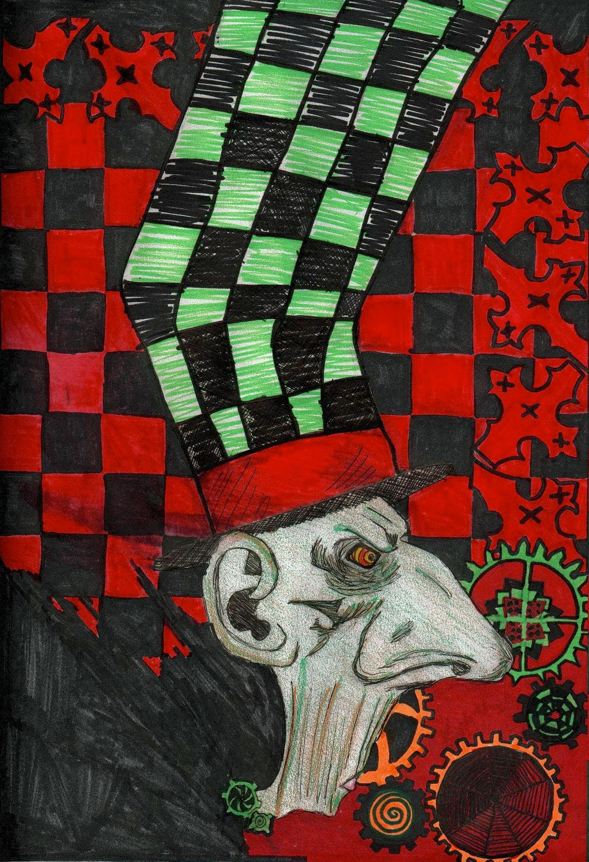 The Mad Hatter by xasylumx