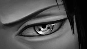 Sasuke Uchiha - Sharingan by hiroshin10