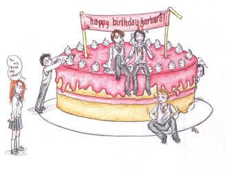 Marauder Cake for Barbara XD by LadyBelial