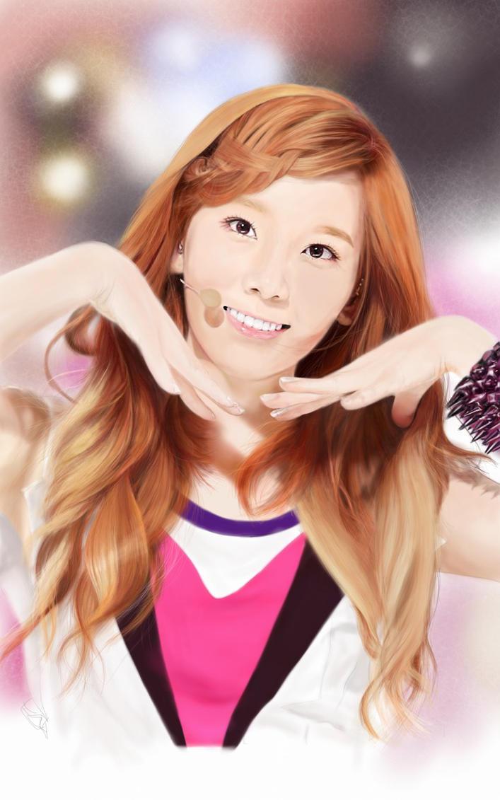 Taeyeon @ Twinkle..Twinkle by raretak