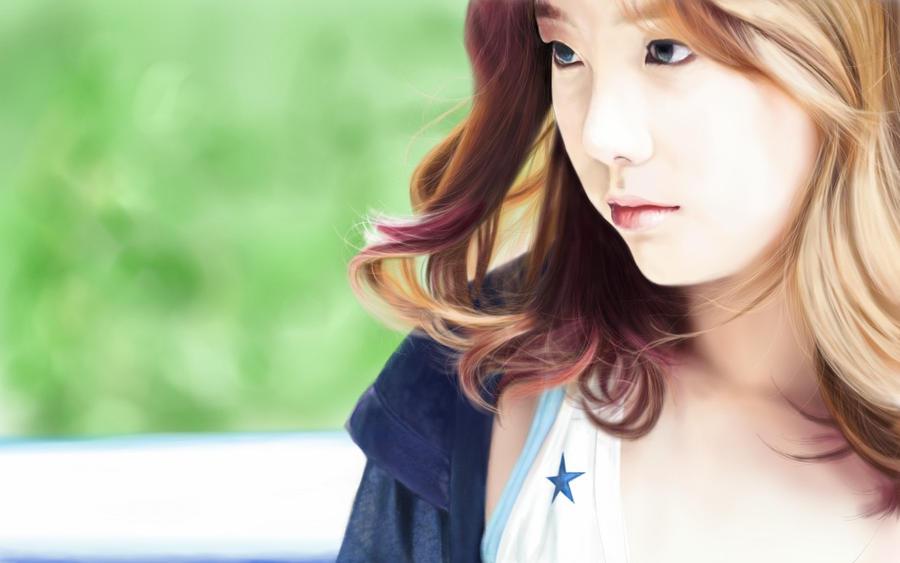 Taeyeon @ ??..somewhere I can't remember. by raretak