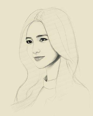 Yoona sketch by raretak