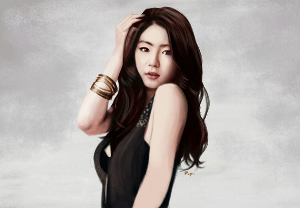 Shin Se-kyung by raretak