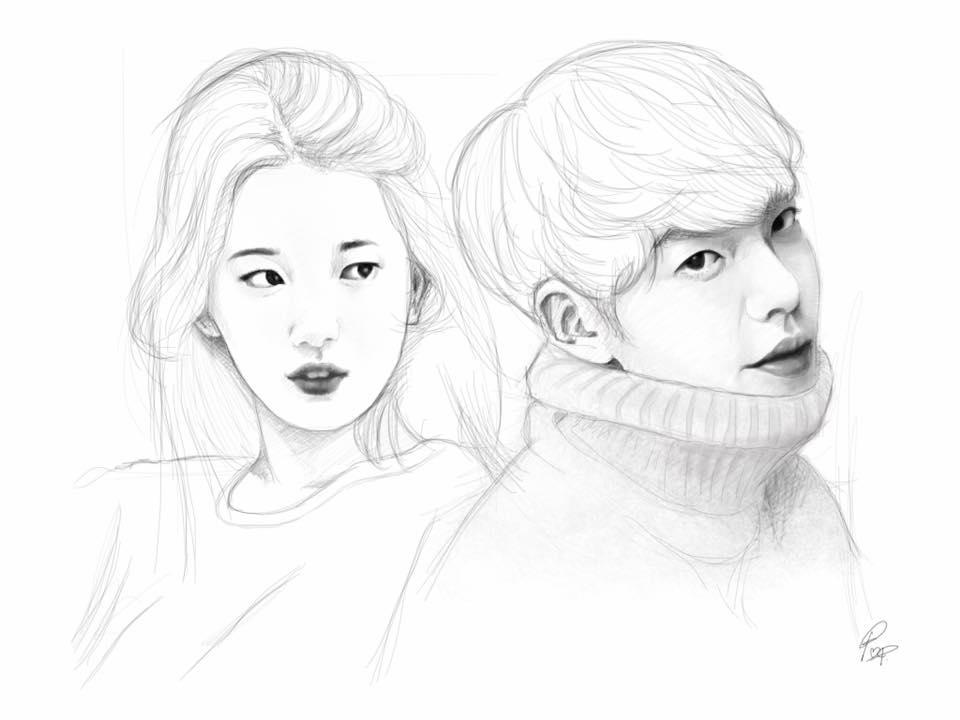 Bae Suzy - Kim Woo Bin by raretak