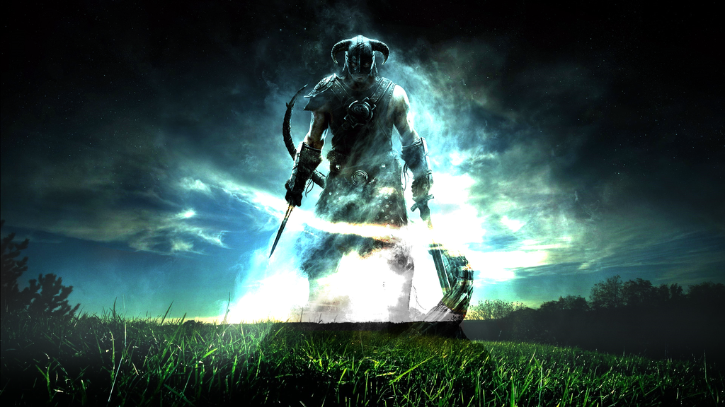 Skyrim fan HD Wallpaper