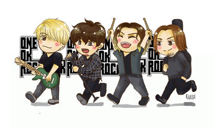 One Ok Rock Chibi by Eyjayo