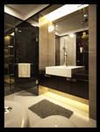 Sleek and Simple Bathroom