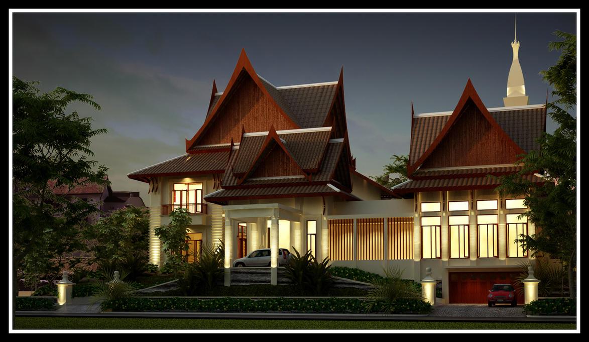 Modern Thai Home Inspiration: Thai Modern By R3ynard On DeviantArt