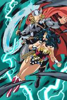 Thor Vs Ww by SpikeHDI