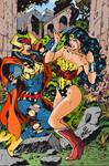 Big Barda vs Wonder Woman