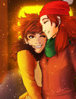 Lena and Emily by Veanil