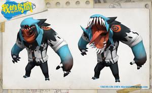 MyRoom Monster 07 by black6589
