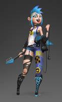Punk Girl by black6589