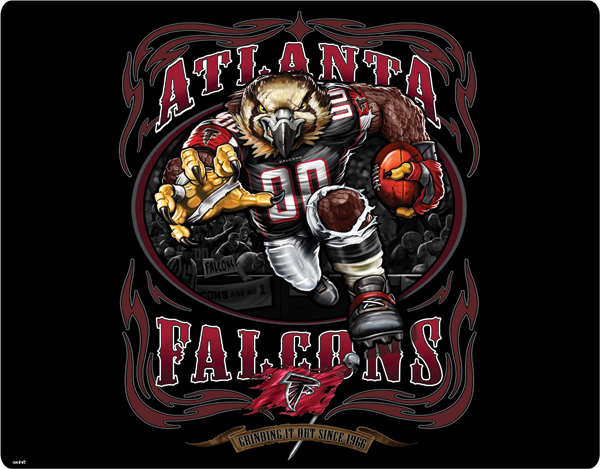 Atlanta Falcons Logo Photos Nfl Iphone Wallpapers: Atlanta Falcons Poster By RedFalcon821 On DeviantArt
