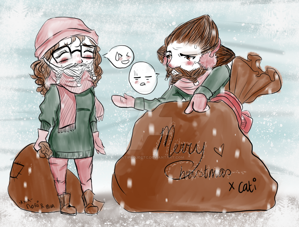 Merry Christmas by Catiprojectc by CatiProjectC