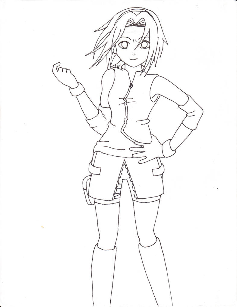 haruno coloring pages - photo#27