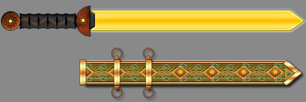 Spatha and scabbard
