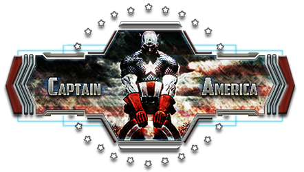 Captain America banner (rework)