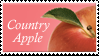 Country Apple Stamp by Strawberry-of-Love