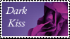 Dark Kiss Stamp by Strawberry-of-Love