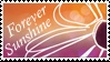 Forever Sunshine Stamp by Strawberry-of-Love