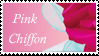 Pink Chiffon Stamp by Strawberry-of-Love