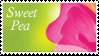 Sweet Pea Stamp by Strawberry-of-Love
