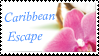 Caribbean Escape Stamp by Strawberry-of-Love