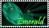 Emerald Birthstone Stamp by Strawberry-of-Love